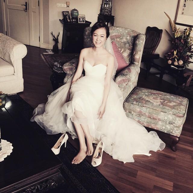 easy going bride