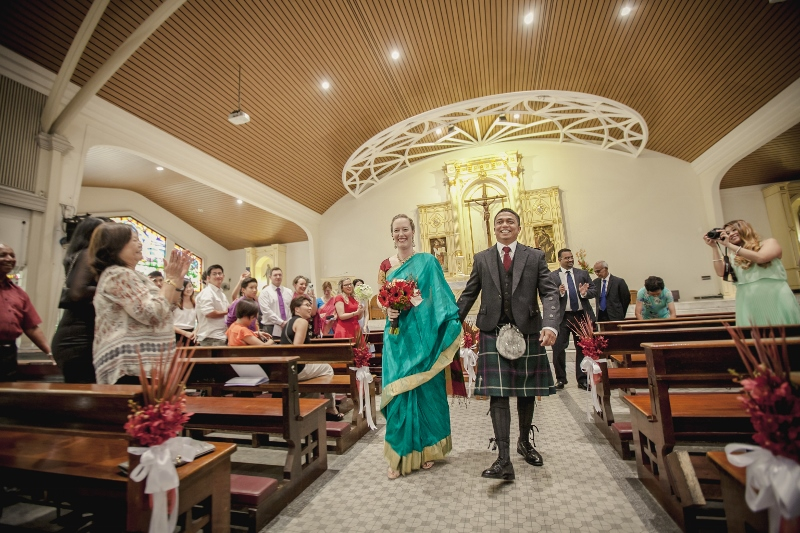 interracial marriage Indian and scottish