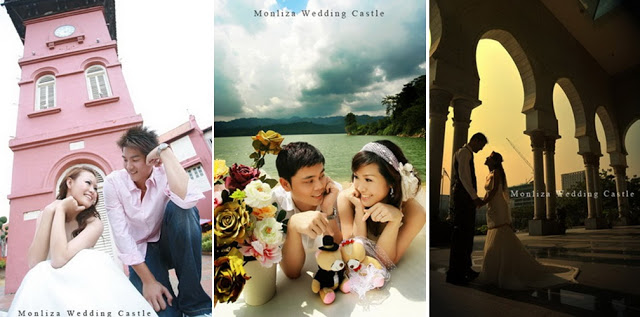 monliza wedding castle