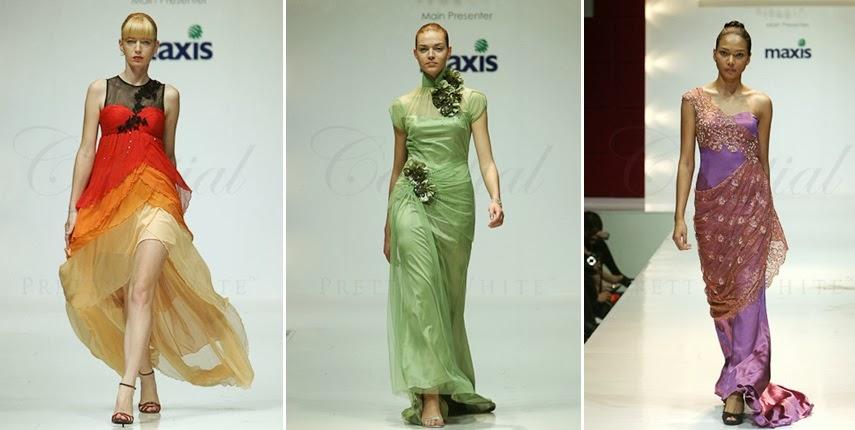 sari oriental chinese modern gown