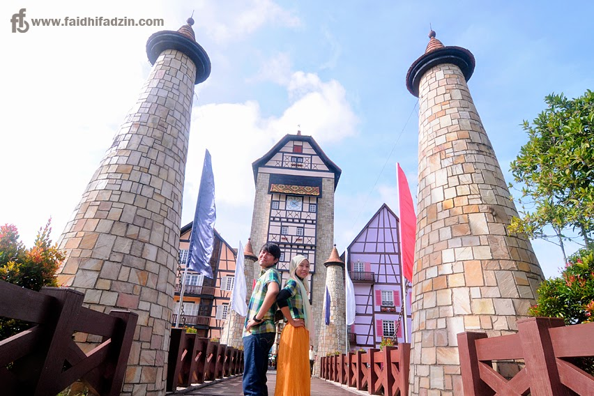 berjaya hills colmar tropicale wedding photography entrance palace