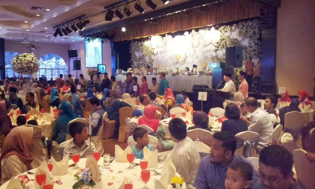 saloma bungalow malay wedding rental package