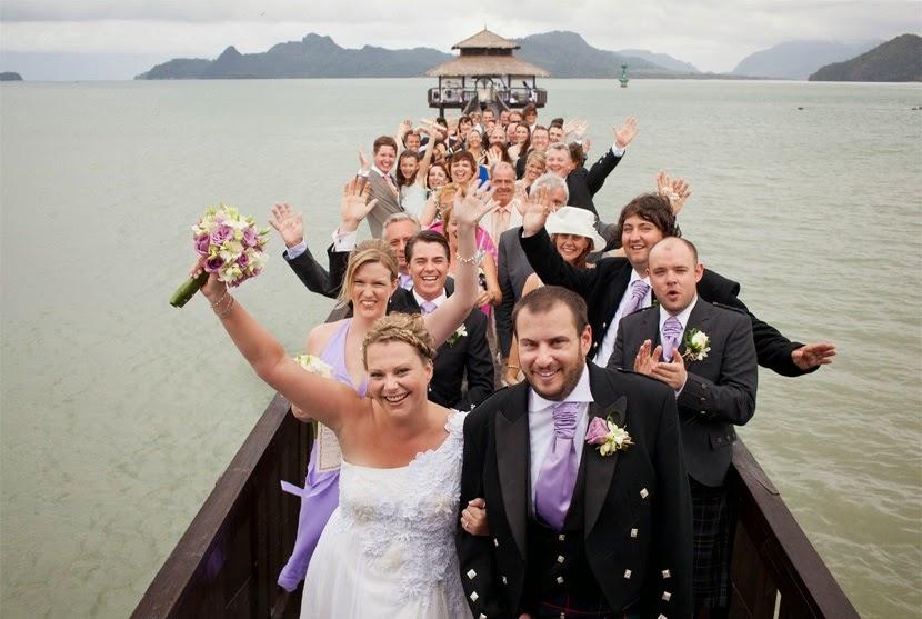 the float westin langkawi wedding