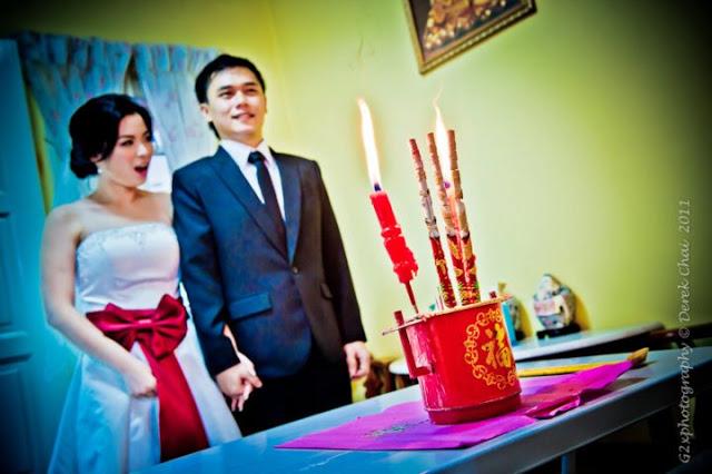 praying to ancentors on wedding