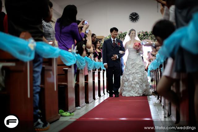 layered fluffy flowery wedding dress