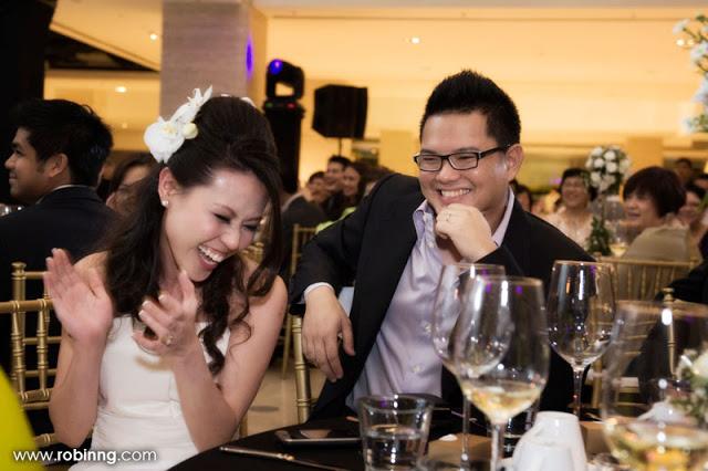 bride happy