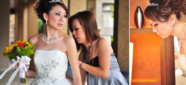 bridal heavy makeup