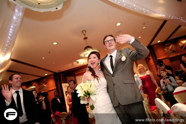 wedding reception western chinese