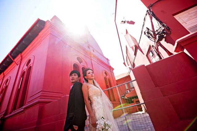 prewedding in melaka