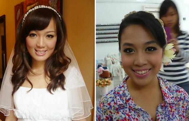 kawaii makeup bride