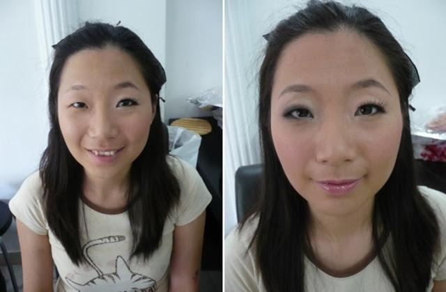 differen makeup look for a bride