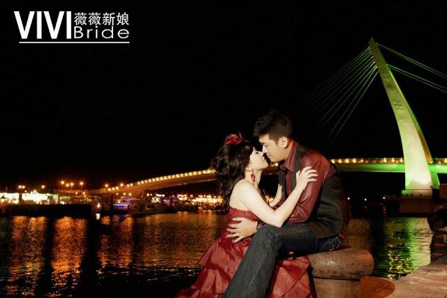 romantic night scene