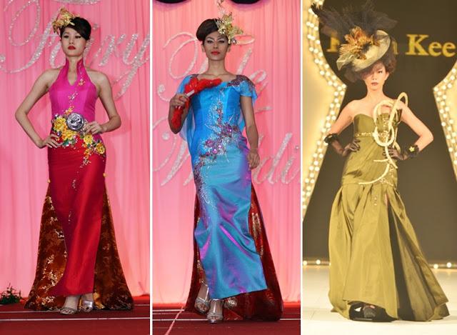 evening gown cheongsam inspired