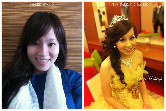 with tiara