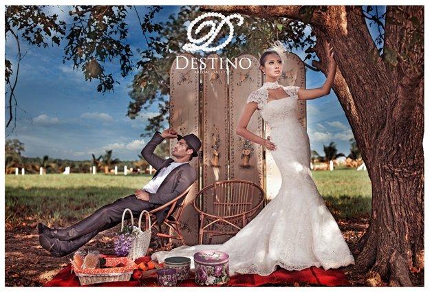 western models wedding