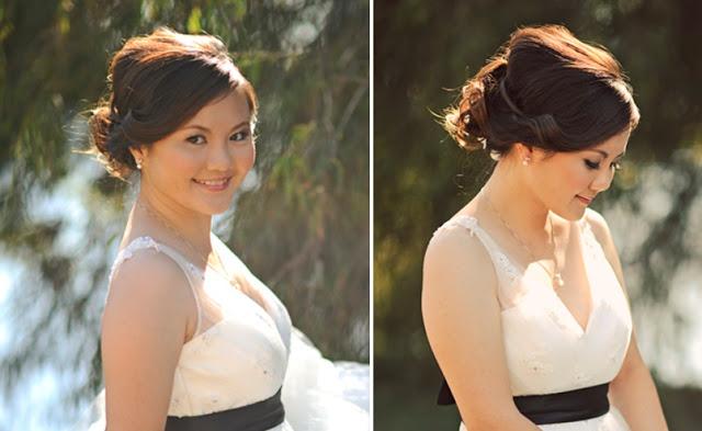bride wedding gown black belt
