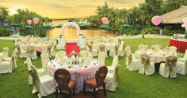 Philea Mines beach resort wedding beautiful garden