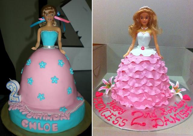 doll wedding cakes