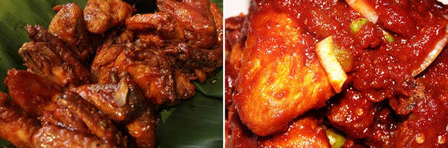 ayam masak merah wedding food