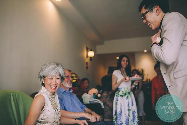 Chinese wedding tea ceremony Malaysia