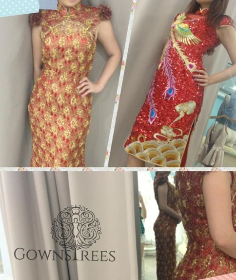 short cheongsam for sales