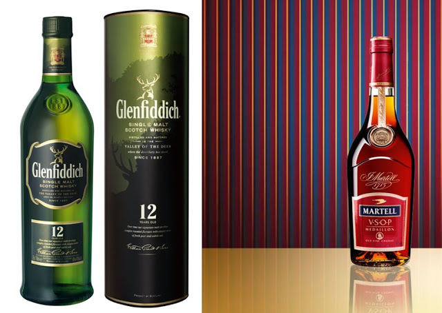 selection of drinks for your guests