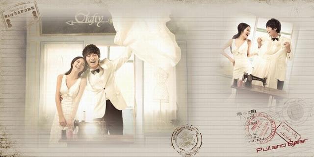 koren style wedding photos