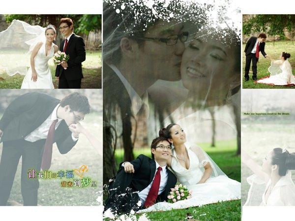 actual sample bridal house photos