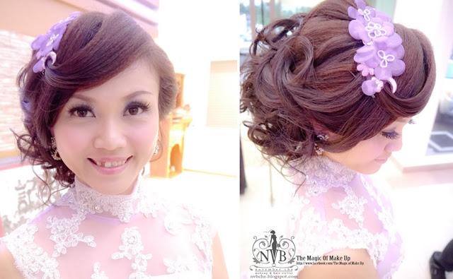 headdress curved fringe