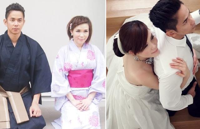 pre-wedding shoot, japanese costume