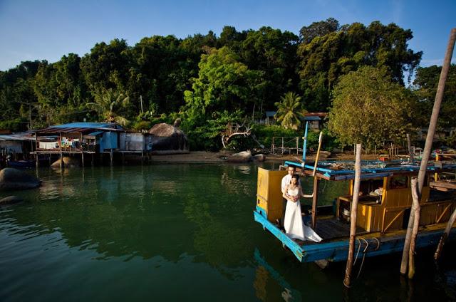 fishing village pangkor photo-shoot
