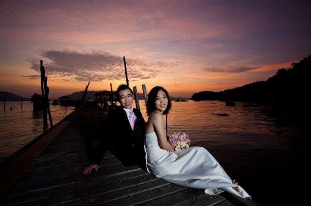 sun rise photo-shoot wedding