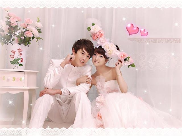 sweet wedding photo