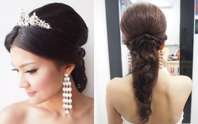long earrings bride