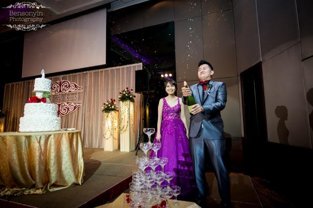 pop the champagne wedding kl