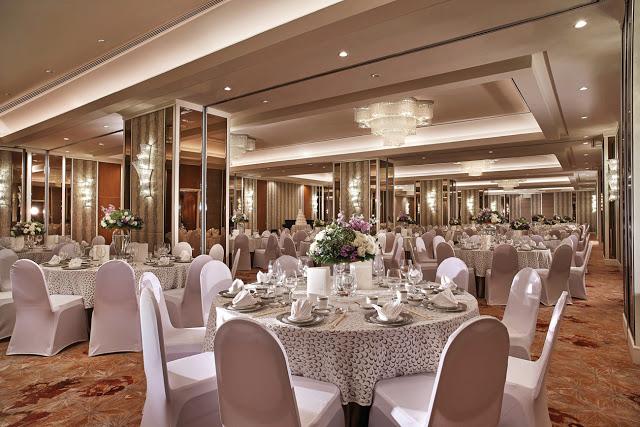 Shangri-La Ballroom KL wedding banquet