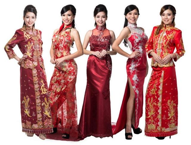 qipao selection for wedding