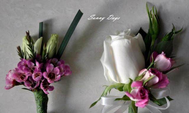 spray roses wedding