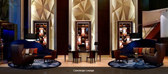 geometric design shapes, intercontinental hotel kl
