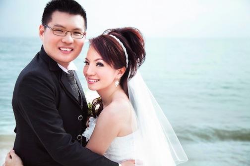 wedding photography at sea