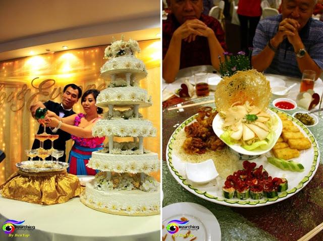noble house wedding cake