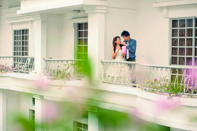 pre-wedding at flamingo hotel