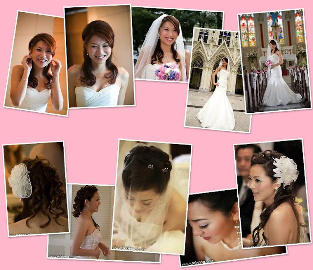 natural chic hair styling for wedding