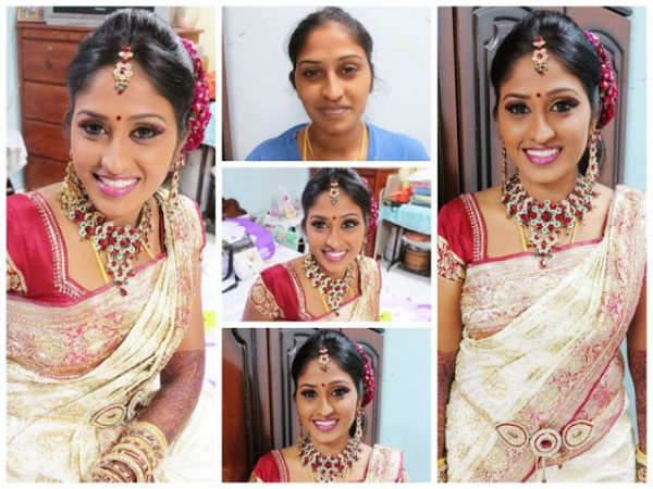 Indian wedding makeup