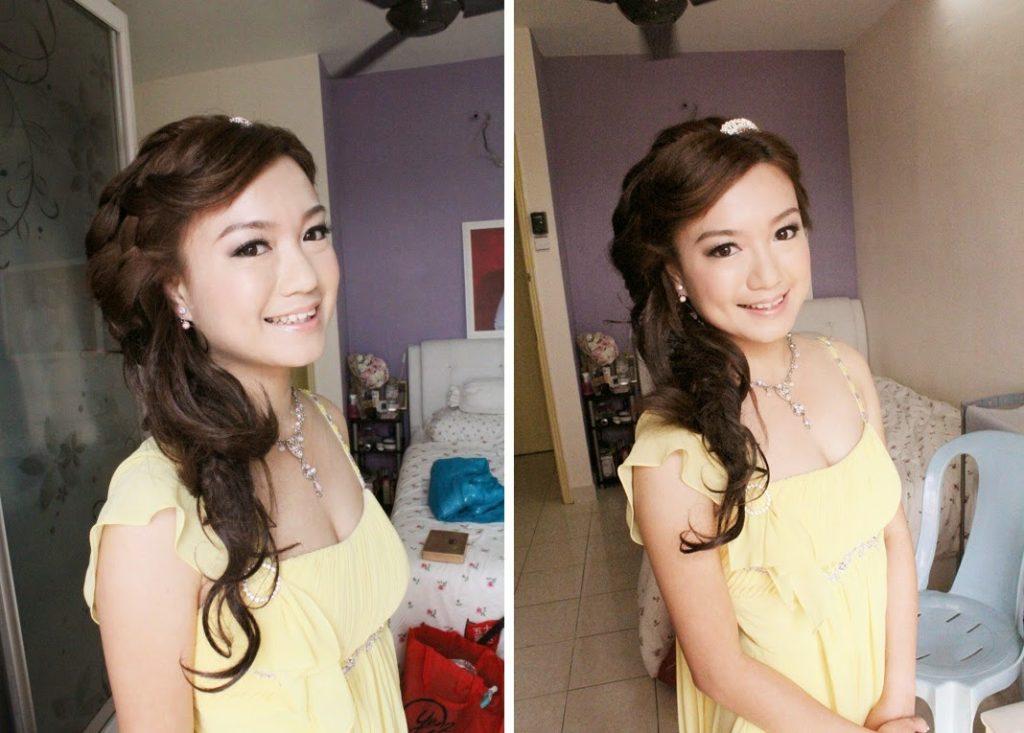 yellow dress bedroom