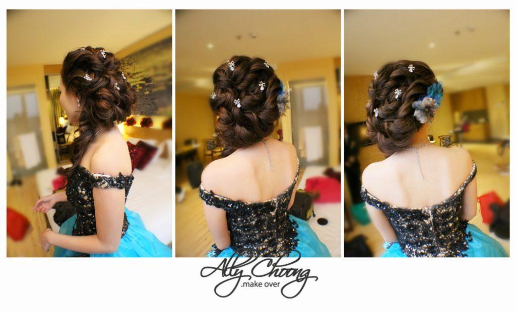 black dress drop shoulder
