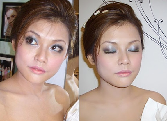 bride with big eyes