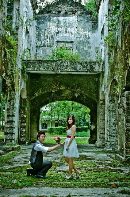 moss pre-wedding location Sentul Park