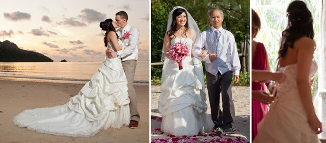 actual wedding beach