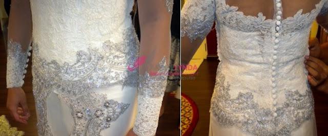 lace kebaya